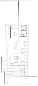 Farnsworth Glass House Floor Plan