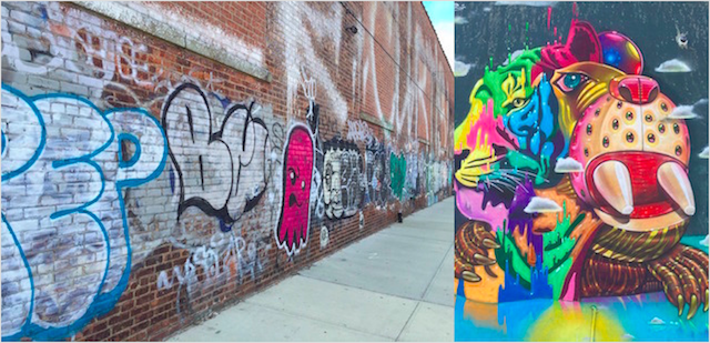 Graffiti Vs. Street Art