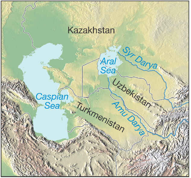 The aral sea crisis map of the aral sea gumiabroncs Images
