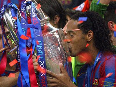 Ronaldinho el mejor jugador de todos