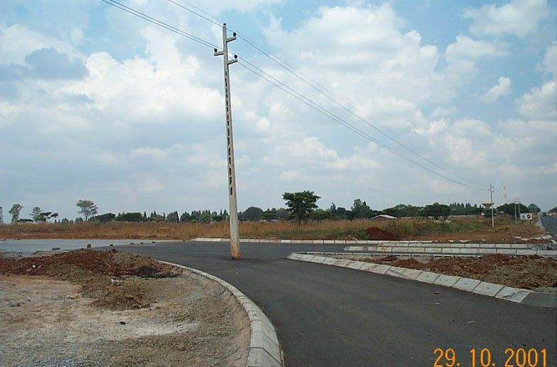 Pylon on Road