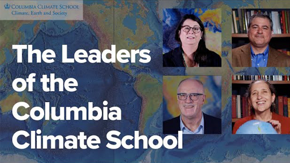Columbia Climate School leaders.